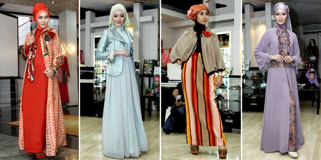 model dress kebaya muslim modern terbaru