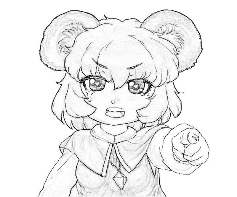 nazrin-cry-coloring-pages