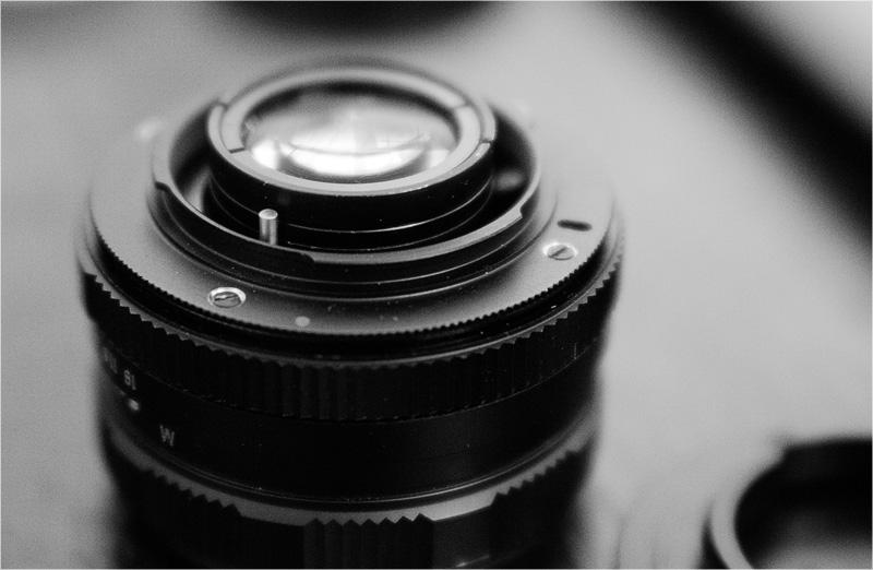 Переделка мануальной оптики М42 на Nikon Форум фотографов.