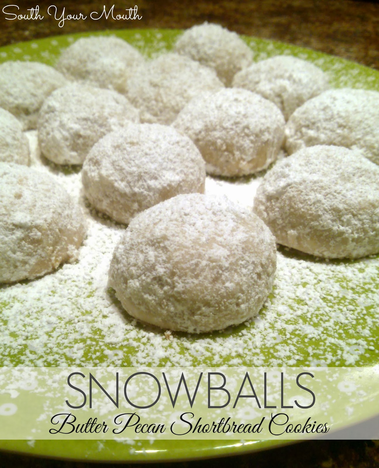 Snowball Cookies Recipe — Dishmaps