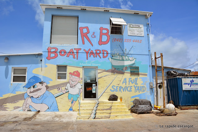 Spanish Wells boat yard