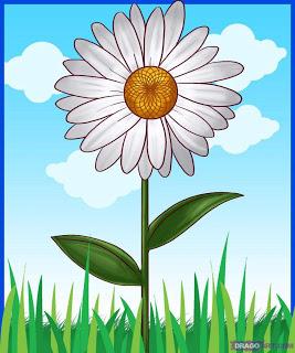 Gambar Kartun Bunga