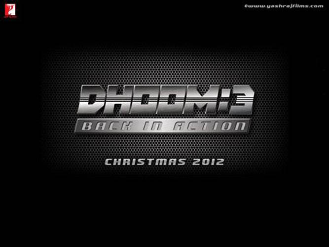Dhoom 3 First Look Wallpapers Poster