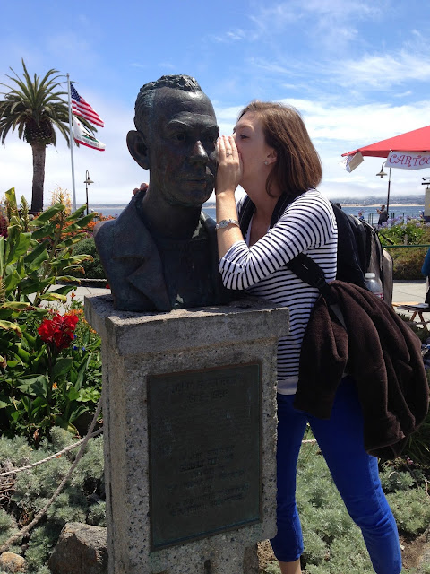 virtues and graces and laziness and zest reflecting on the novel a bust of john steinbeck sits in cannery row