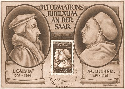 Calvin and Luther