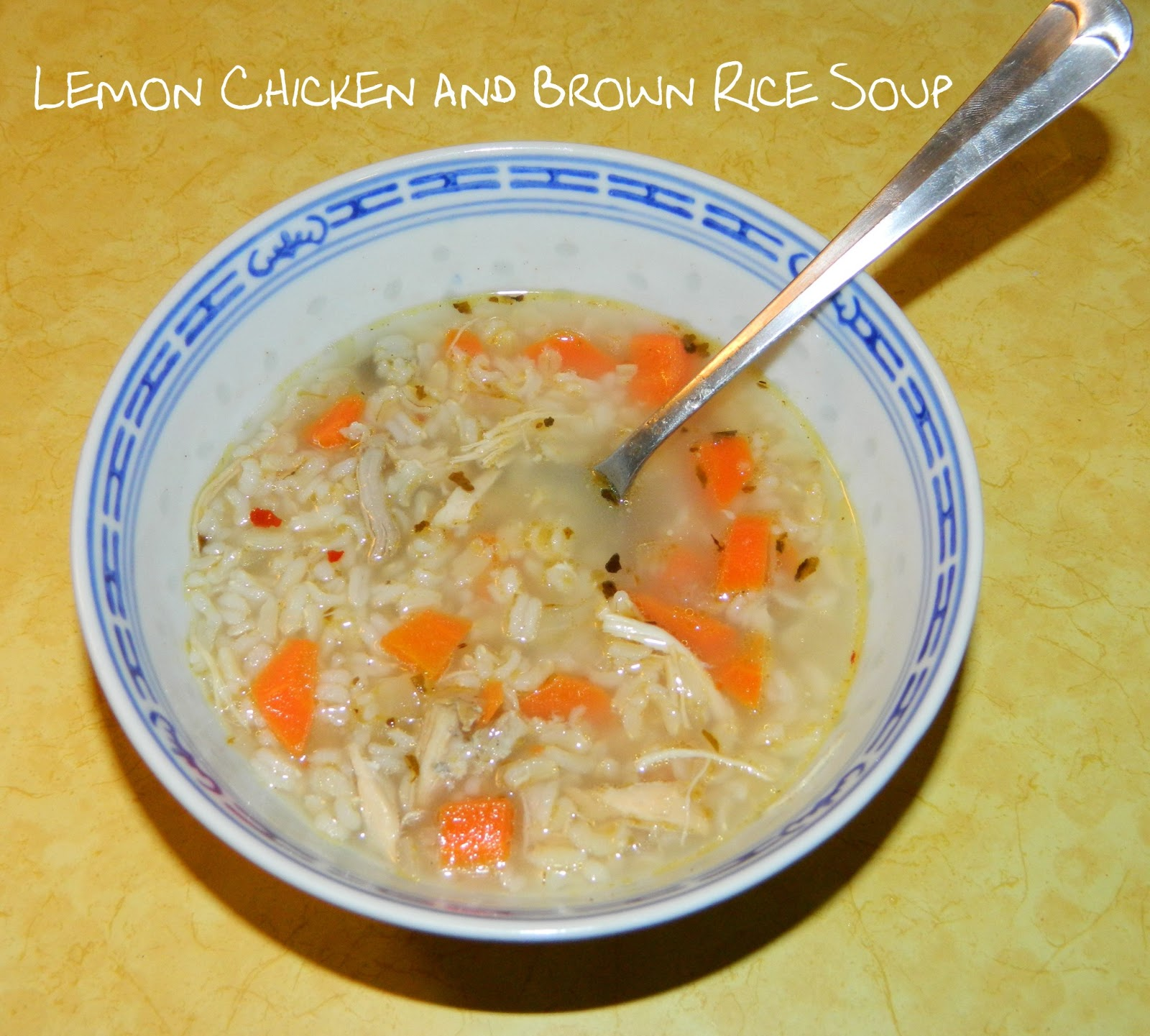 Life On Colgate: Crock Pot Lemon Chicken And Brown Rice Soup