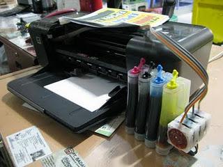 Cara Pasang Infus Printer HP