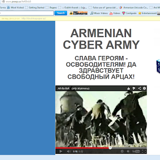may 9 shushi shusha armenia army victory azeri azerbaijan website hacker