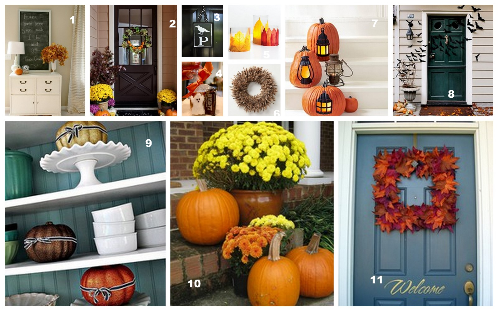 Home made modern pinterest easy fall decorating ideas Home decor ideas bedroom pinterest
