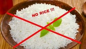 Cara diet tanpa makan nasi dalam menu harian