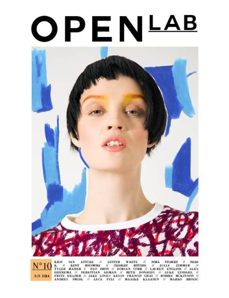 Flo Dron Covers Open Lab Magazine SS14