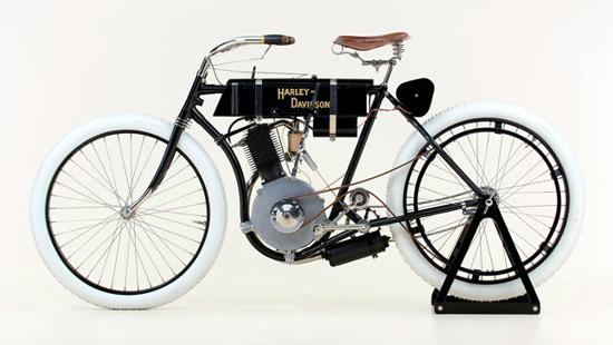 First Versions Harley Davidson