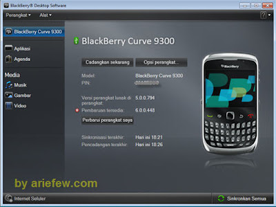 Cara Mudah Upgrade OS Blackberry (Full Screenshot)