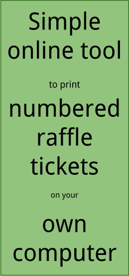 how to number raffle tickets in word party invitations ideas. Black Bedroom Furniture Sets. Home Design Ideas