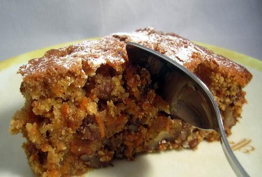Torta de zanahoria y chocolate