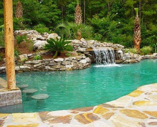 Piscinas lindas y modernas en fotos piscinas con ca da de for Imagenes de piscinas bonitas