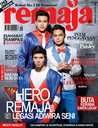 Cover hero Remaja 2011/2012