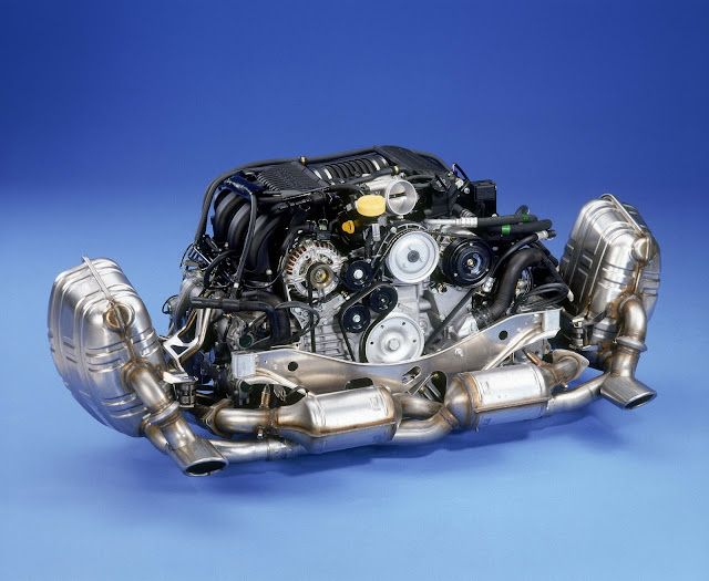 3.4-litre flat-six engine; Porsche 911 Carrera 3.4 (996); 1998