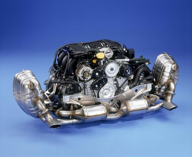 3.4-litre flat-six engine; Porsche 911 Carrera 3.4 (996); 1998