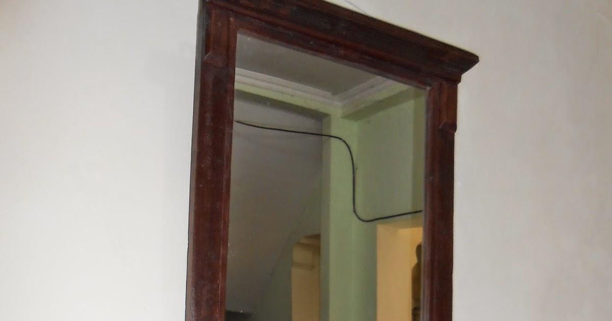 sold minimalist vintage mirror cermin kuno minimalis