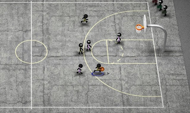 Stickman Basketball full apk for android