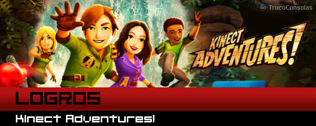 Logros Kinect Adventures XBox 360