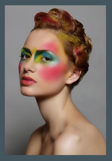 High fashion makeup looks |ASheClub.blogspot.com