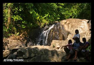 Ao Yon Waterfall in Phuket