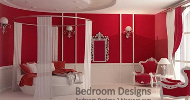 Romantic Bedroom Design Ideas For Women With Round Bed Curtain