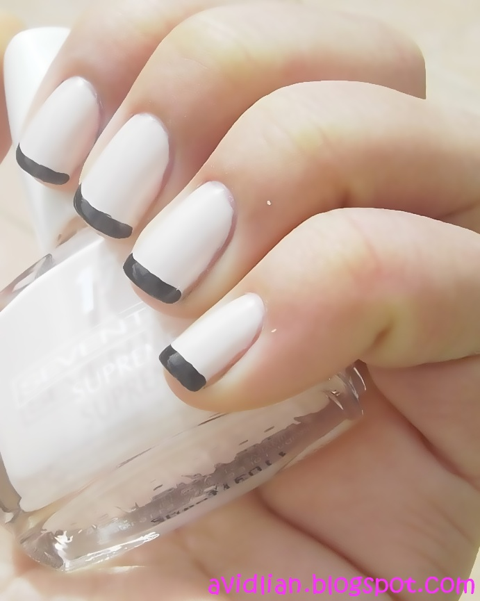 aviDliaN: Reverse French Nails straight from the Runway