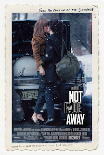 Not Fade Away, James Gandolfini, John Magaro, the '60s