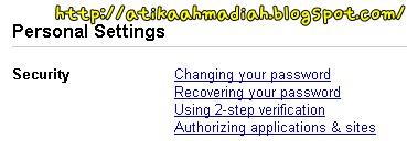 Tutorial, Tutorial Tukar Password, Password, Kata Laluan, Cara nak Tukar Password Blog, Blogspot, Blog, Blogger