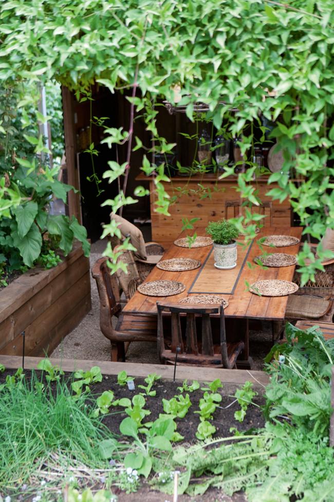 Casual Casa Outdoor Dining Area