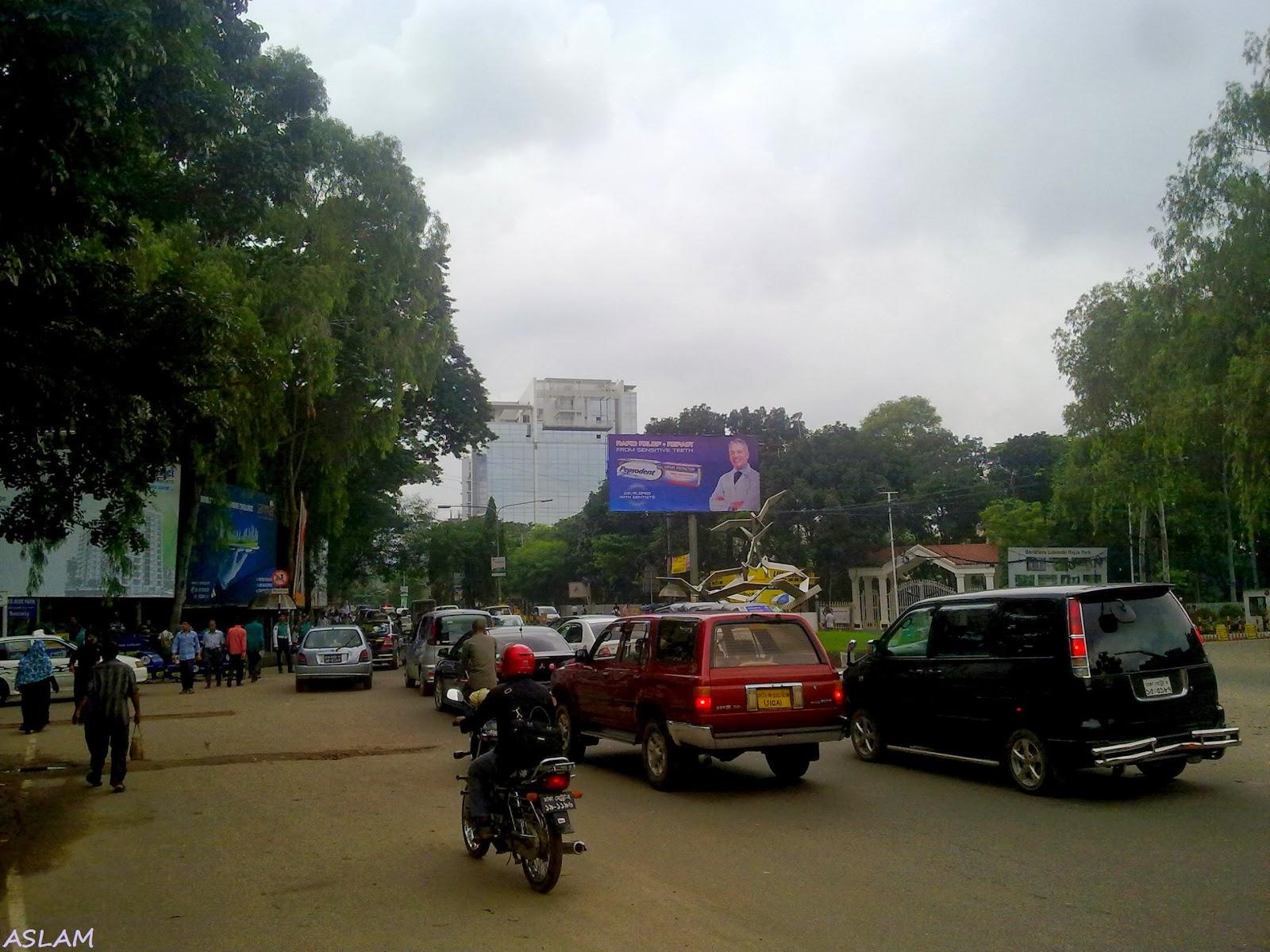 Gulshan 2 Road in Dhaka