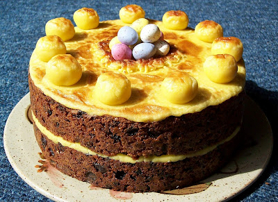 Simnel Cake Images