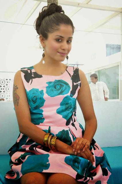 Anukriti Stills At Holi Mela Poster Launch