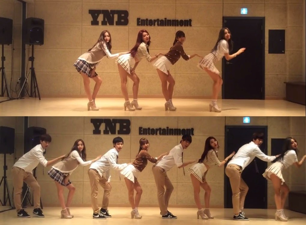 BESTie release dance practice video for 'I Need You'