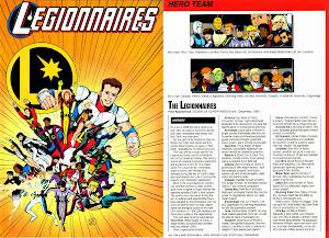 Ficha DC Comics Legionarios