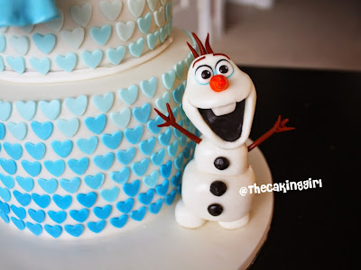 how to make olaf figurine tutorial diy