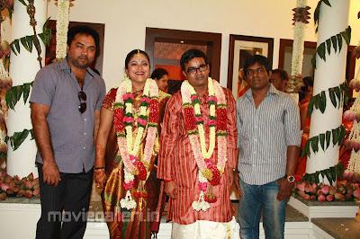 ... Raman engagement stills, Director selvaraghavan geethanjali wedding