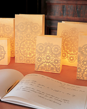 The Bride's Diary - DIY: Paper Lantern Ideas