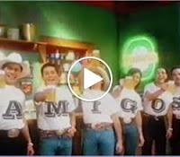 Propaganda de reposicionamento da Cerveja Bavaria com os Amigos (cantores sertanejos)