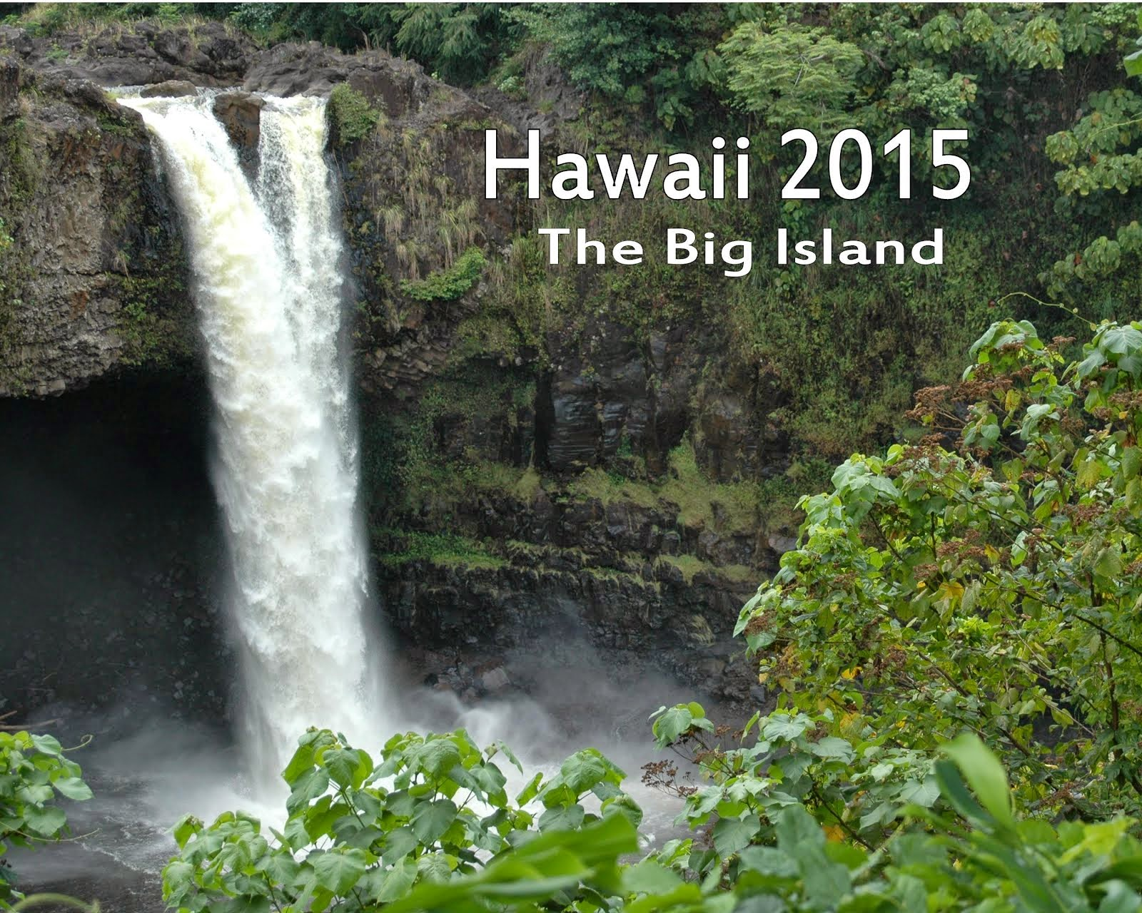 Hawaii Calendar - 2015 - The Big Island