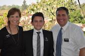Sister Erickson, Elder Ford and President Erickson