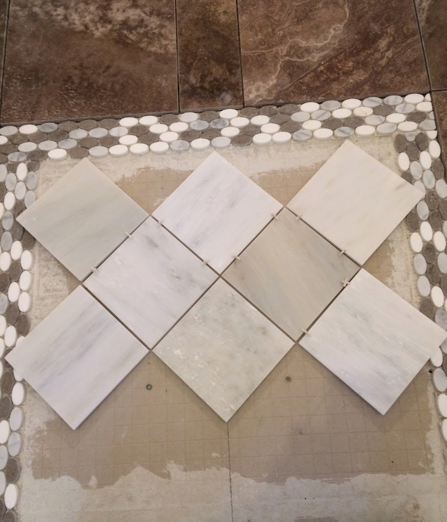 How To Get A Starting Point For Tiling A Floor Flooring
