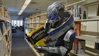 mass effect garrus learning Afternoon LOL   Garrus Reads Up On Calibrating