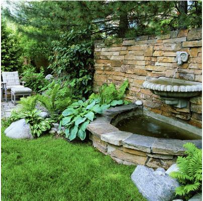 F brica de id ias tudo em paisagismo e decora o fontes for Haven home and garden design