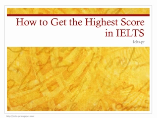 how to get the score for ielts reading academic