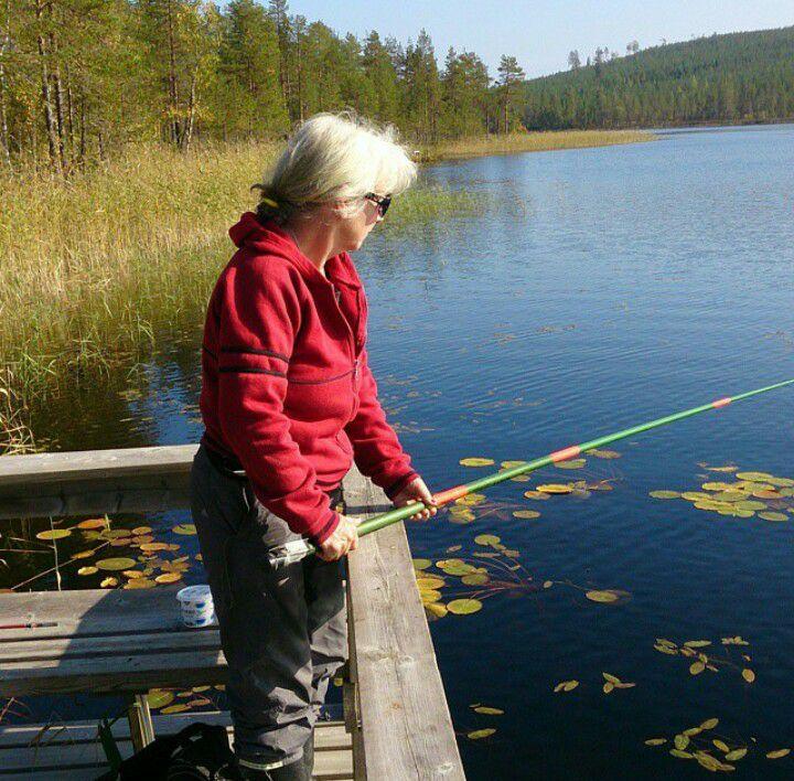 fiske vid Bågatjärn