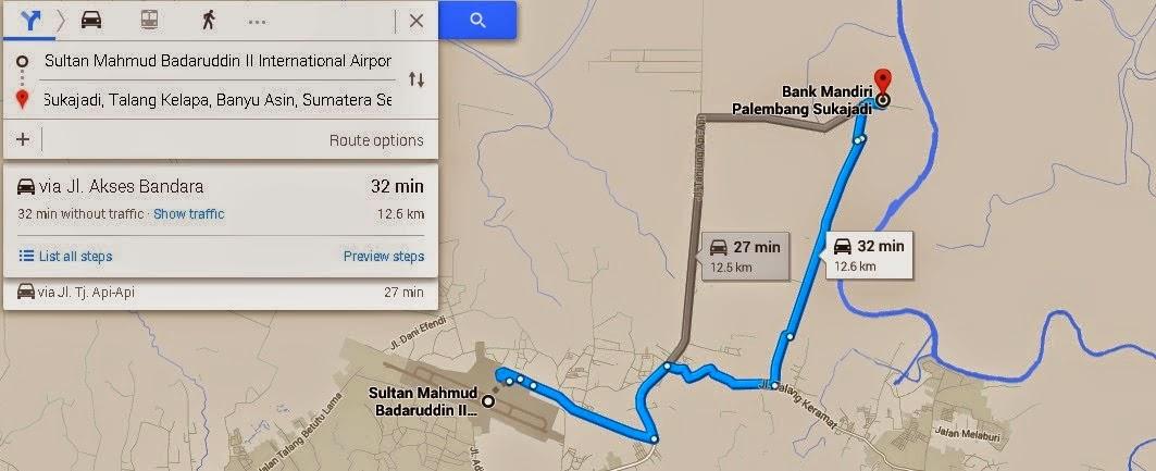 Bank Mandiri Palembang Sukajadi, Jl. Raya Palembang - Betung Km.12-13, Sukajadi, Talang Kelapa, Banyu Asin, Sumatera Selatan 30761, Indonesia